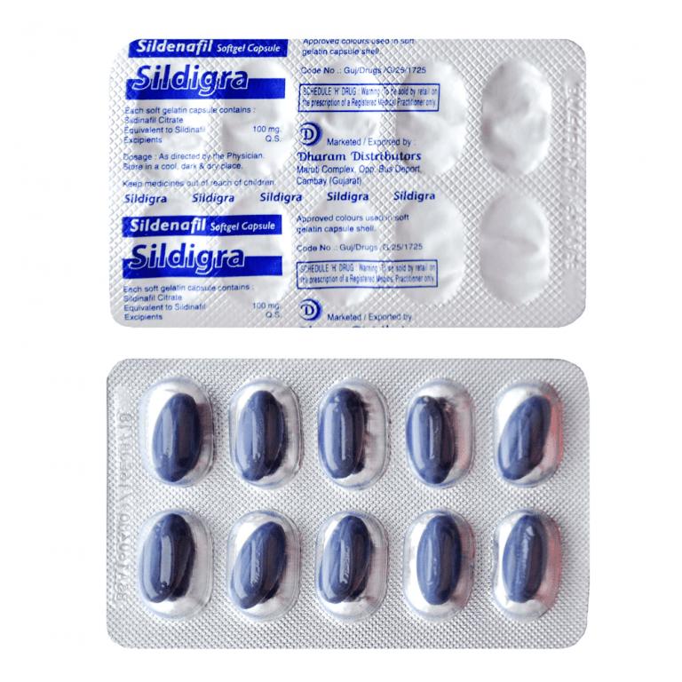 Buy Sildenafil Soft Capsule 100mg Online