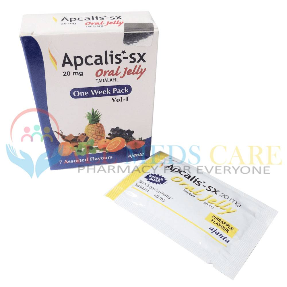 Apcalis Oral Jelly Information and Pricing