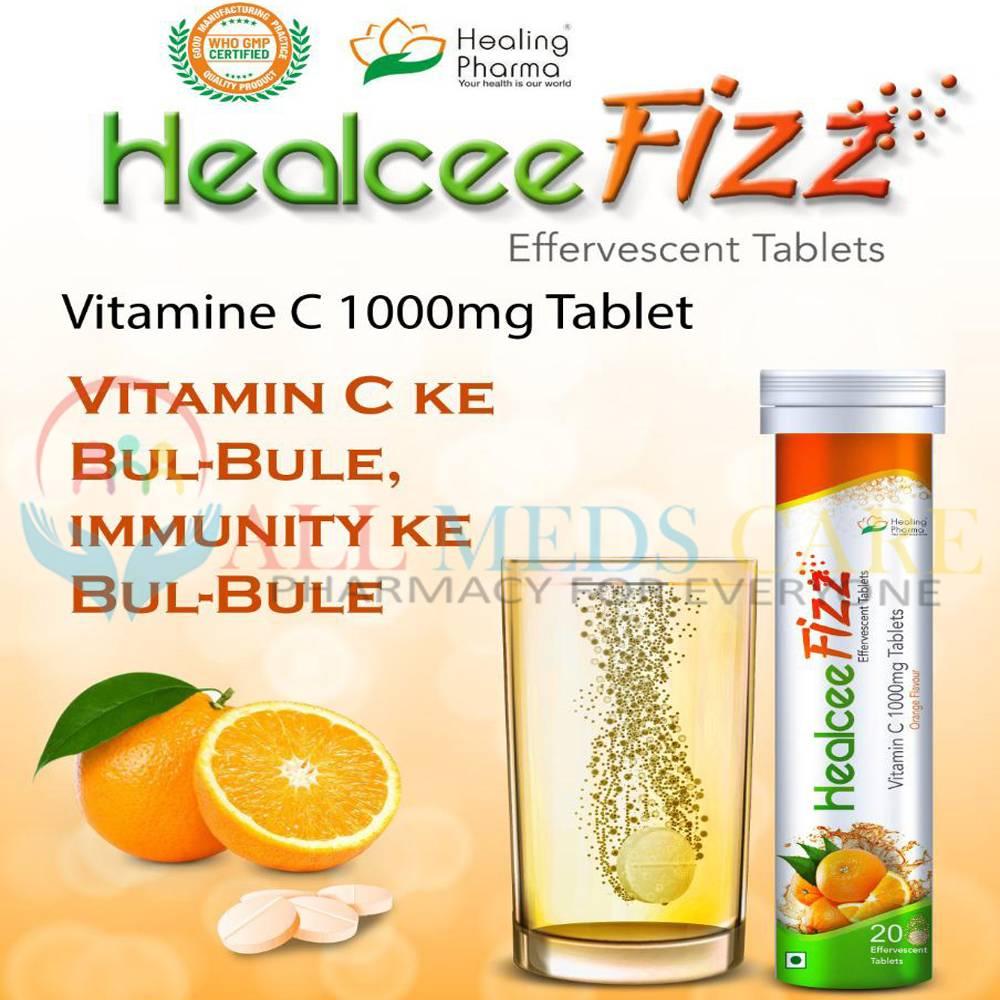 HealCee-Fizz-Effervescent-Tablets-100mg-AllMedscare-product